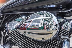 Zydeco Selfie (Cameron Knowlton) Tags: canada abstract reflection reflections nikon bc motorcycles victoria potd historic chrome motorcycle historical selfie zydeco d600