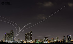 Planes leaving Miami by Mark den Hartog (128WiltonSt) Tags: night airplane airport cityscape shots miami earth airplanes markdenhartog