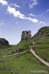 Castle Ewen (DMeadows) Tags: sky cloud skye castle rural landscape island islands scotland highlands stones magic scenic peak glen hills ridge highland fairy ewan grassland isle uig myth faerie stardust ewen mythical davidmeadows balnaknock dmeadows davidameadows dameadows