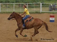 DSC01211a (Garagewerks) Tags: horse oklahoma sport race america cowboy child country barrel american rodeo cowgirl countryliving barrelracing barrelrace