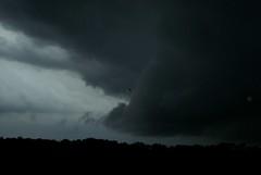 Raindrops (LaLa83) Tags: ohio summer sky storm hot rain weather june clouds evening gloomy sony thunderstorm alpha thunder a230 fairfieldcounty 2013 ruralohio stoutsville ohiofoothills