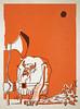 Viking (YONIL.com) Tags: orange illustration poster helmet axe viking charachter yonil