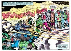 Our Fighting Forces #160 by Jack Kirby (Derek Langille) Tags: our art comics jack spread dc kirby comic double page fighting marvel jackkirby forces
