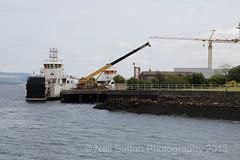 Calmac MV Hallaig Port Glasgow