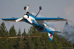 Ribbon Cut (Aerospace Imaging) Tags: canada 26 cut airshow alberta ribbon aerobatics sukhoi rockymountainhouse 2013 cgsuk jerzystrzyz