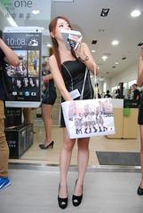 2013  hTC () Tags: portrait taiwan showgirl taipei   sg  htc   sb800 2013