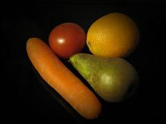 Frugt og Grntsager  -  Fruits and Vegetables (Walter Johannesen) Tags: orange apple fruit vegetable carrot pear ble grnt pre appelsin frugt grntsager gulerod
