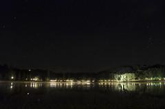 The Lake - Parisot (Guillaume Angibert) Tags: camping sky lake france reflection bulb night forest stars lights high nikon long exposure lac ciel tarn et nuit garonne etoile forêt lumières sud étoile najac parisot étoilé d5100