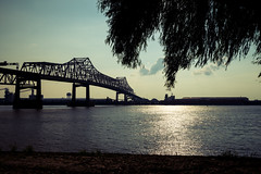 Baton Rouge - I-10 Bridge (DNewGA) Tags: bridge louisiana batonrouge mississippiriver capitalcity i10bridge