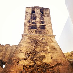 Πυραμιδοειδής καμινάδα. Ενα από τα χαρακτηριστικά της βενετικής αρχιτεκτονικής στην #Κρήτη