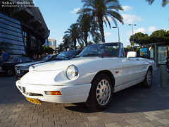 Alfa Romeo Spider (105/115 series) (Yohai_Rodin) Tags: classic cars car club israel 5 five tel aviv אביב תל מכונית מועדון מכוניות היכל נוקיה קלאסית קלאסיות החמש