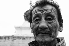 A Mongolian Visitor To Erdene Zuu Monastery (El-Branden Brazil) Tags: horses asian asia desert buddhist pigeons buddhism mongolia monks temples camels steppes gobi nomads mongolian karakorum erdenezuu ulaanbatar