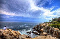 Kennebunkport, Maine (capers66) Tags: ocean sea summer coast tide maine rocky kennebunkport kennebunk hdr seacoast photomatrix canon5dmarkii