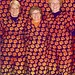 """The Loonies set the bar high: Christine Faenza, Deborah Nelson and Beth Williams, dressed in their Tiger Paw scrubs, were featured in the Hyundai ad about fan loyalty. • <a style=""""font-size:0.8em;"""" href=""""http://www.flickr.com/photos/49650603@N07/9734678818/"""" target=""""_blank"""">View on Flickr</a>"""