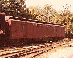 Pennsylvania RR 492445 (CPShips) Tags: 1977 100yearsold prr greenbank npcs wilmingtonwestern clerestorycoachusstock prr492445