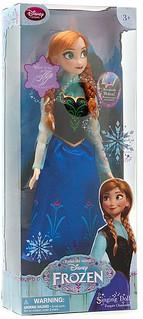 Disney Frozen Anna Singing Doll!