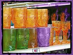 99 Halloween (dog.happy.art) Tags: decorations halloween mugs decoration plastic mug decor photoshopping goblet