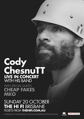 Cheap Fakes support Cody Chesnutt
