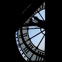 L'altra mezza giornata (fotovisiva) Tags: paris clock museum day time musee daytime museo horloge orologio tempo orsay parigi musedorsay museodorsay fotovisiva