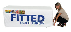 Fabric Table Cover | Signarama | Fitted