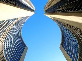 Curved Towers Of Toronto City Hall .... Toronto, Ontario