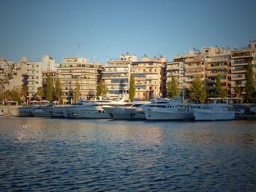 Port du Pirée, Marina Zea, Athènes, Grèce