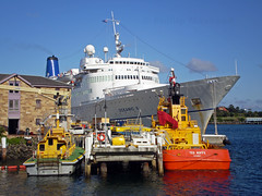 Oceanic 2 + vessels (PhillMono) Tags: cruise sea ted ship princess sydney vessel olympus veronica governor tug pilot e30 oceanic bligh kungsholm noffs