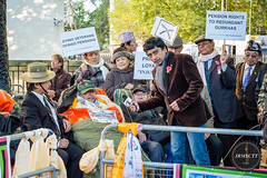Gurkha on hunger strike (jrmsctt) Tags: london westminster 35mm fight war remember protest streetportrait parliament rights poppy ww2 fujifilm ww1 cenotaph whitehall veterans armedforces veteransday remembrancesunday gurkha hungerstrike xpro1 streettogs