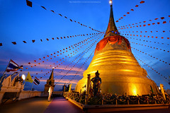 Sunrise : Phu Khao Thong - ภูเขาทอง (The Golden Mount Bangkok)