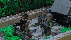 'Operation Dry Creek' (Tomcat Bobcat) Tags: game turkey army war lego military battle greece macedonia lmg m113 brickarms