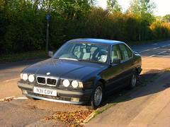 BMW (64) (peter_b2008) Tags: se bmw classiccars e34 525i 5series n311cov