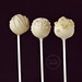 "Vegan White Chocolate Cake Pops w macadamia nuts • <a style=""font-size:0.8em;"" href=""http://www.flickr.com/photos/59736392@N02/11107050263/"" target=""_blank"">View on Flickr</a>"
