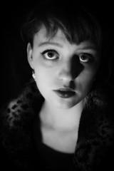 Janneke (rhiannonhope) Tags: portrait blackandwhite bw bigeyes george glamour eyes hollywood actress pout headshots mgm mgmstudios 1950 hurrell georgehurrell