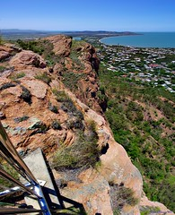 Castle Hill Summit - Pillbox 2013 5MB (John Skewes) Tags: panorama landscape scenery stitch australia hires queensland pan stitched castlehill townsville pillbox highres northqueensland