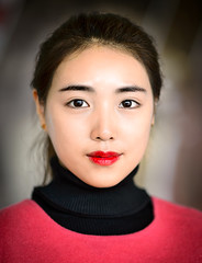20131208 TodayArtMusm-PP-9831.jpg (Ding Zhou) Tags: china portrait statue model modernart beijing wolfman goldstatue wolfwoman chaoyangdistrict todayartmuseum gr8rx