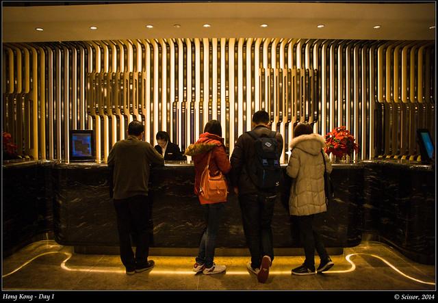帝京酒店櫃檯