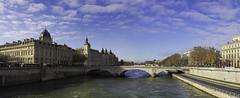 IMG_1941_42_43_44_45_46_47_48_49_50 - Paris - décembre 2013 - La Seine - La Conciergerie (xsalto) Tags: paris france décembre 2013 laseine laconciergerie panoramique