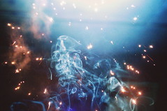 incense (emmakatka) Tags: blue cloud fog smoke overlay firework incense goodvibes emmakatka