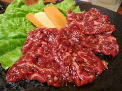 Beef Loin! @Yakiniku Renka, Shanghai (Phreddie) Tags: china party food happy japanese restaurant yum shanghai beef bbq meat delicious eat korean 29 yakiniku meatclub renka 140129