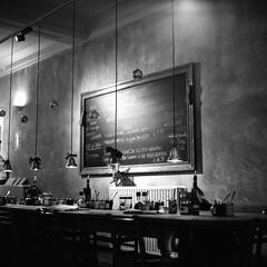 Birthday brunch (ronet) Tags: film mediumformat cafe scan hasselblad scanned mechelen lepainquotidien hasselblad500cm ilforddelta100