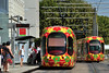 Alstom Citadis 302 TAM Montpellier (3x105Na) Tags: france tram montpellier alstom tam 302 strassenbahn t2 tramwaj francja citadis