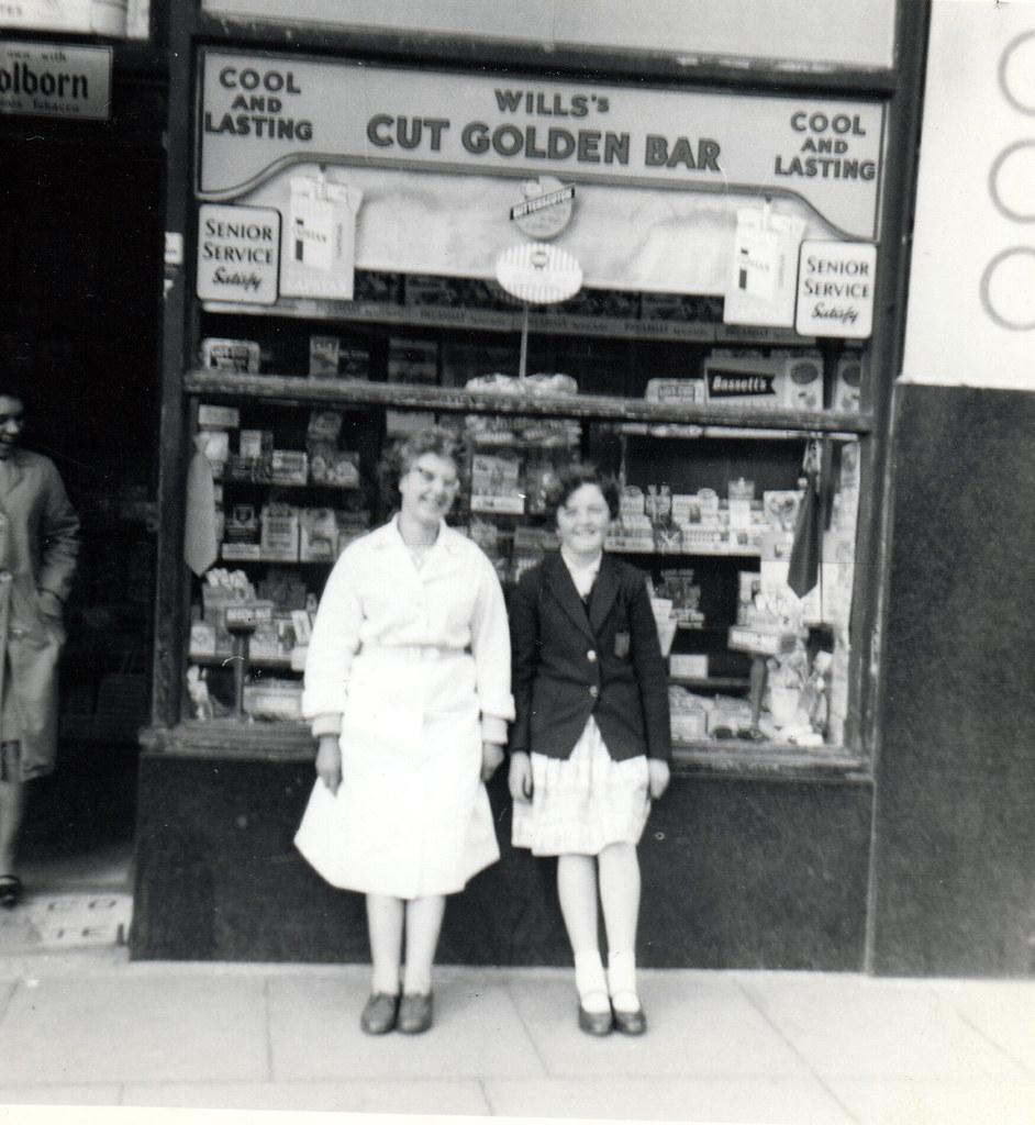 Mary La Rocca and Friend 1950s