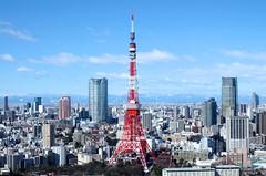 東京タワー Tokyo Tower (ELCAN KE-7A) Tags: blue sky tower japan tokyo pentax 日本 東京 2014 タワー 青空 ペンタックス 蒼空 k−5ⅱs