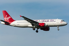 """Virgin Atlantic A320 -214 EI-DEO """"Queen of the Cobbles"""" (happyrelm) Tags: heathrow aircraft jets airbus vs airlines airliner lhr virginatlantic a320 egll a320214 eideo cn2486 queenofthecobbles lhrheathrow080314egll"""