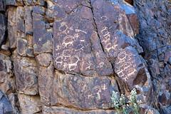 The petroglyphs of Bichigt Khad (10b travelling / Carsten ten Brink) Tags: asia mongolia prehistoric petroglyph gobi rockart 2012 pictograph mongolei rockengraving bichigtkhad carstentenbrink iptcbasic bituut bayangiinnuuru