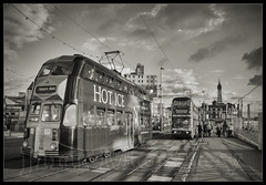 tram (saltley1212) Tags: balloon tram blackpool 709 719