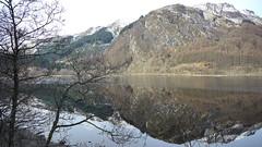 lake (Mike Wylde) Tags: uk mountain reflection lumix scotland panasonic loch m43 gh2 micro43
