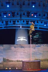 he does better than a pole dancer (tomzcafe) Tags: singapore panasonic esplanade singaporeartsfestival vivitar3528 lumixg10