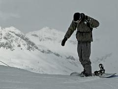M. Jackson pose? (SFD (professional loungist)) Tags: snow tom canon snowboarding g9