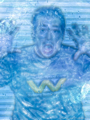 88/365 Shock Frozen Atlan (Photograaff) Tags: blue selfportrait frozen iced cryonics atlan 365daysproject